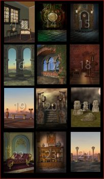 Contest Stock 13 - 24 by PaperDreamerArt