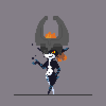 Midna, the Twilight Princess by heyfutures
