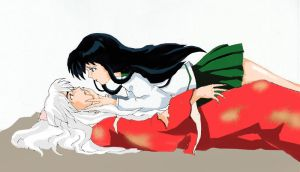 inuyasha and kagome by needit