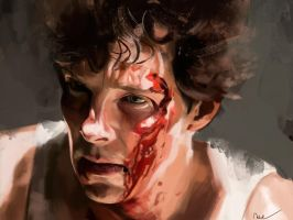 Benedict Cumberbatch - Little Favour by Namecchan