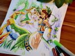 Siren Sona meets Mythic Cassiopeia by Lighane