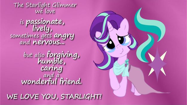 The Starlight Glimmer We Love by NewportMuse