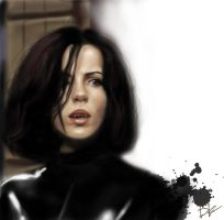 Kate Beckinsale as Selene (Underworld) by DashaKartist