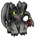 Toothless ! by MiyuWasHere