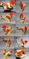 Scrafty sculpture by Weirda208