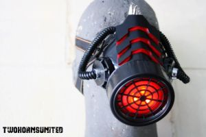 The Incinerator Light up respirator by TwoHornsUnited