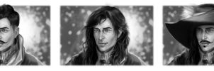 Dorian, Fairy tales Prince, Musketeer by lucife56