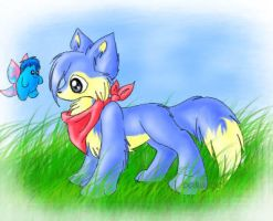 Another baby lupe XD by poliwag30