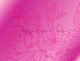 Rose Brushes 2 by Chads1986Dream