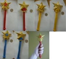 Sailor Moon Star Wands by lilYumi-chan