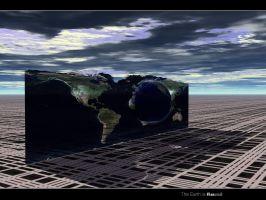 The Earth is Round flat by swarfega