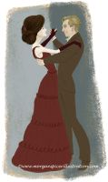 Downton Abbey Mary and Matthew by MorSpicer