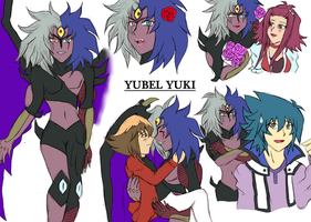 YSSWG Profile Yubel by Crystal-Dream