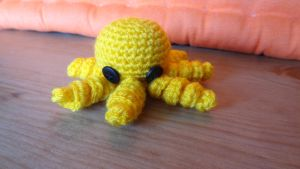 Yellow Mini Octopus by Narmita08