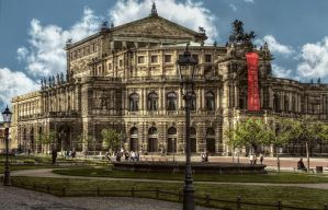 Semper Opera in Dresden by pingallery