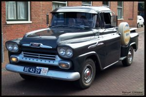 1958 Chevrolet Apache by compaan-art