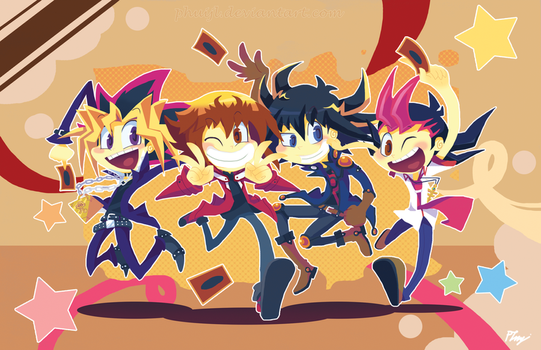:YGO gangs: by PhuiJL