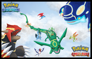 Pokemon Omega Ruby and Pokemon Alpha Sapphire by SuccessfulDropOut