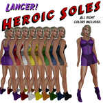 Creating the ads:  Lancer by BarbaraTeebrook