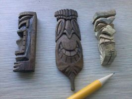 Pocket Tikis by tflounder