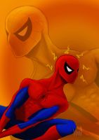 LoveHate book - Spider-man by Neef
