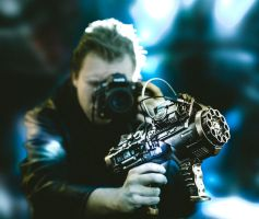 Steampunk Scifi gun for project by hmcindie
