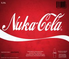 Nuka-Cola Wallpaper by bairdmeister