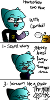 Emo Music 101 With Gumball by Mercenary-Punk
