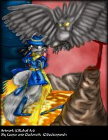 SlyCooper and Clockwerk Oo by dalspots