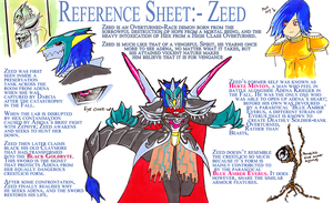 Reference Sheet - Zeed by DeadlyObsession