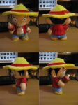 luffy chin munny by ADRIAN-NATION