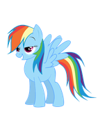 Rainbow Dash by BeatnikZombeez