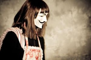V for Vendetta, Breakfast? by williamshade