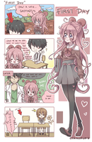 FanGirl Ai : First Day now on Tapastic by OtakuPup