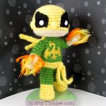 Custom Crochet - Iron Fist by CraftyTibbles