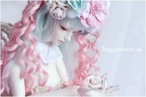 Marzipan Roses by Sarqq