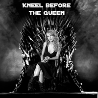 Taylor Swift On Her Spot (KNEEL BEFORE THE QUEEN) by MSaadat10