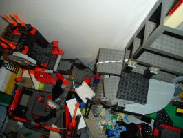 Disaster in Legopolis 2! by Taggerung1