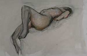 Life drawing by BeatriceBaumann