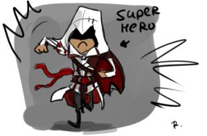 Assassin's Creed, sketch by Ayej