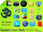System Icon Pack by SiddharthMaheshwari