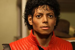 Michael Jackson Lifesize bust MJ-R pic1 THRILLER! by godaiking