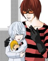 Mello is mine colored by llyaoifanll