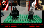 Lego KOTOR II: Darth Nihilus and Darth Sion by fORCEMATION