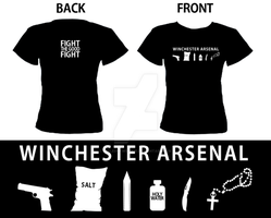 Winchester Arsenal Tshirt by smiledrawinglie