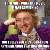 When Rap meant something by Hashae