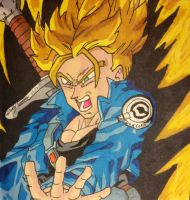 Trunks the Super Saiyan!!! by gokujr96