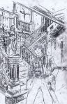 Doctor Who: The Fourth Doctor #3 Cover pencil by RobertHack
