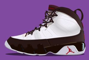 AIR JORDAN 9 by KLRbee
