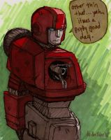 "Ironhide: ""Other'n That..."" by Ha-HeePrime"